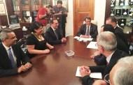 الرئيس القبرصى يستقبل وزير البترول ويستمع لشرح حول اتفاق انشاء خط الغاز