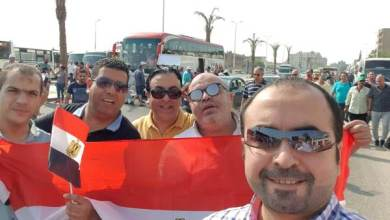 "Photo of بالصور.. مشاركة قويه لأم الشركات ""هيئه البترول "" فى مظاهرات حب مصر لدعم الدولة"