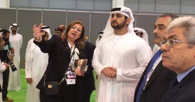 Photo of نائب حاكم دبى يبحث مع رئيس المنتدى الاقتصادى العالمى دعم صناعة المستقبل