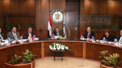 صورة وزير البترول يعتمد الجمعية العامة للشركة المصرية القابضةللبتروكيماويات