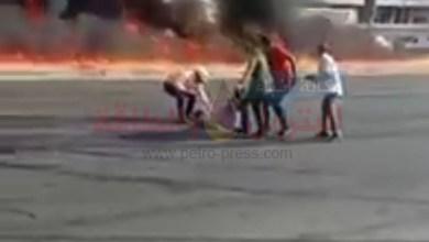 Photo of مشهد مروع..أول فيديو وصور حصرية لحادث حريق خط خام شقير مسطرد بطريق الاسماعيلية