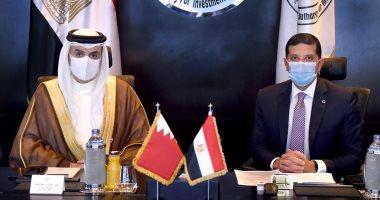 رئيس هيئة الاستثمار يبحث مع سفير البحرين سبل تعزيز الاستثمارات البحرينية فى مصر