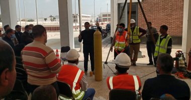 مياه أسيوط تحقق السلامة والصحة المهنية والاسعافات الأولية بديروط