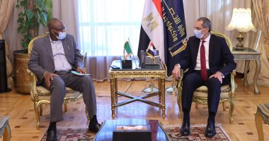 وزير الاتصالات يعرض على نظيره النيجرى تجربة مصر في التحول الرقمى