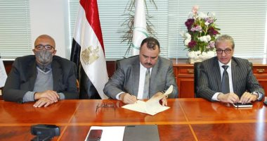 """البريد المصرى و""""ميل أمريكا"""" يوقعان بروتوكول تعاون بمجال التجارة الإلكترونية"""