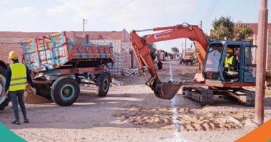 """مؤسسة """"حياة كريمة"""": جارى تنفيذ عدد كبير من المدارس بمحافظة الفيوم"""