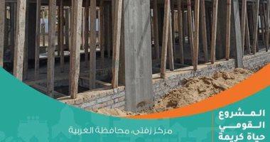 """مؤسسة """"حياة كريمة """" اعمال توصيل الغاز  قاربت على الانتهاء بمحافظة الغربية"""