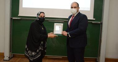 رئيس جهاز حماية المنافسة يلقى محاضرة بالجامعة الألمانية للتعريف بأهمية المنافسة