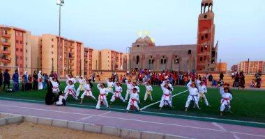 """رئيس جهاز """"أكتوبر الجديدة"""": افتتاح 5 ملاعب رياضية بالمدينة"""