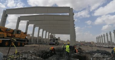 """""""نوبة صحيان"""" للانتهاء من إنشاءات أكبر مصنع غزل في العالم بشركة المحلة"""