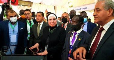 وزيرة الصناعة: زخم غير مسبوق في مستوى العلاقات الثنائية بين مصر وجنوب السودان