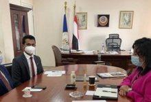 تفاصيل لقاء فادة شلبي بسفير سيريلانكا بالقاهرة لمناقشة تعزيز التعاون بمجال السياحة