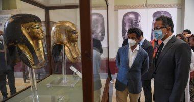 وزير السياحة السعودي يزور المتحف المصري بالتحرير