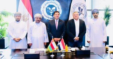 لقاءات مكثفة مع رجال أعمال عمانيين لعرض الفرص الاستثمارية المتاحة بمصر