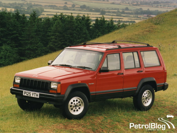Old Gold Top Gear: Jeep Cherokee XJ