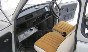 Right-hand drive Trabant 601 interior