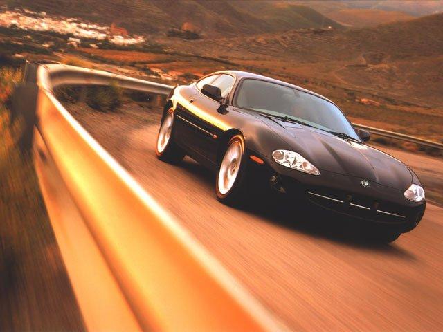 Gene Hunt: Jaguar XK8