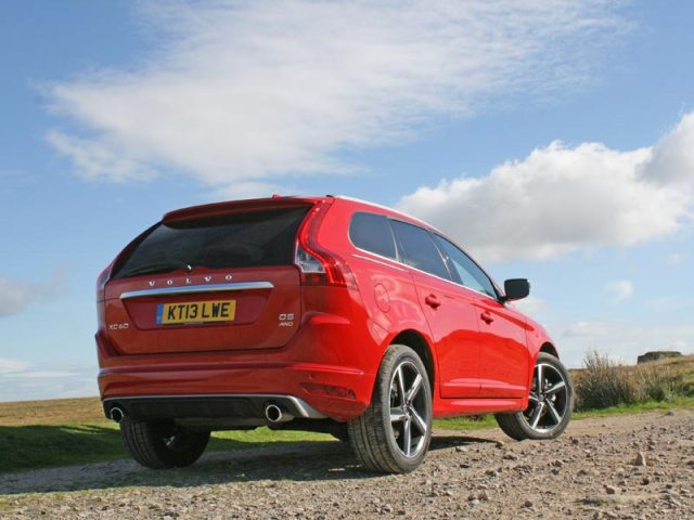 Rear of 2014 Volvo XC60 R-Design