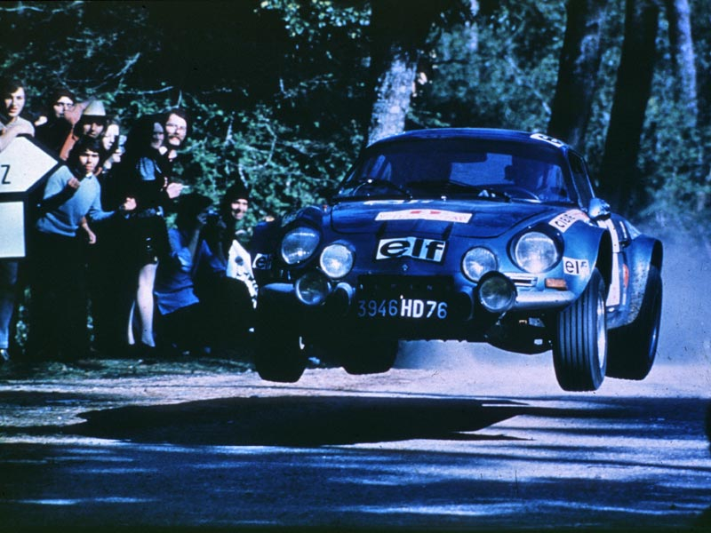 Rear-wheel drive Renaults - Alpine A110