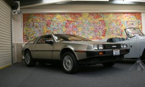 DeLorean DMC-12 at Haynes International Motor Museum