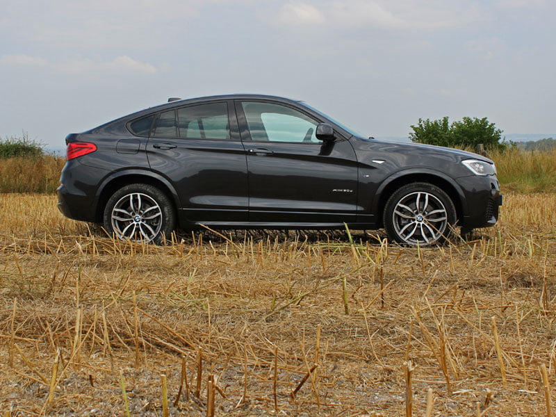 Side view of 2014 BMW X4 xDrive 30d