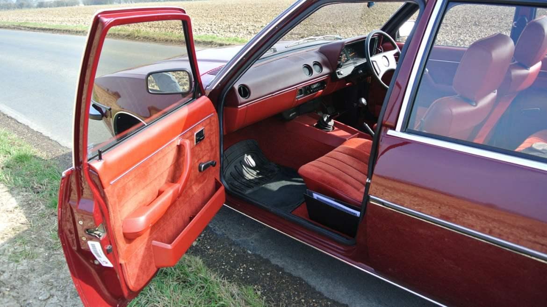 MK1 Vauxhall Cavalier door open