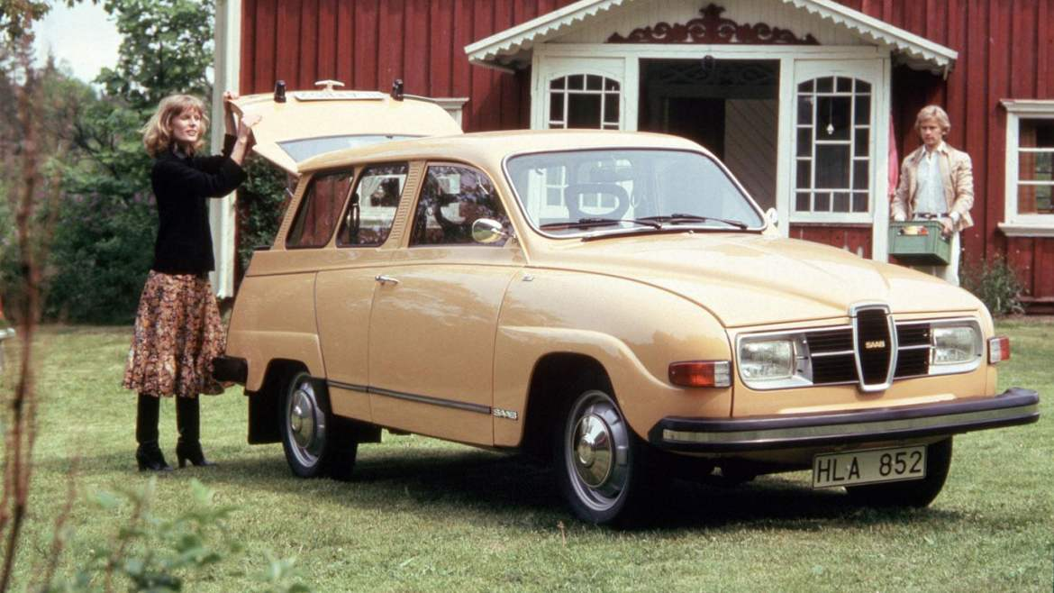Saab 95 V4 Estate