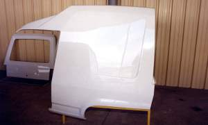 Volkswagen Polo Transfer rear panel