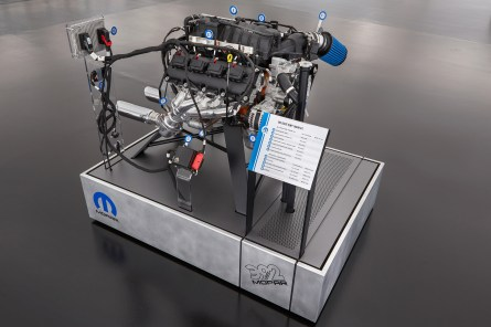 2016 - New Mopar Crate HEMI® Engine Kits are brought to market, enabling enthusiasts to drop modern HEMI engines power into classic 1975 or earlier vehicle models.