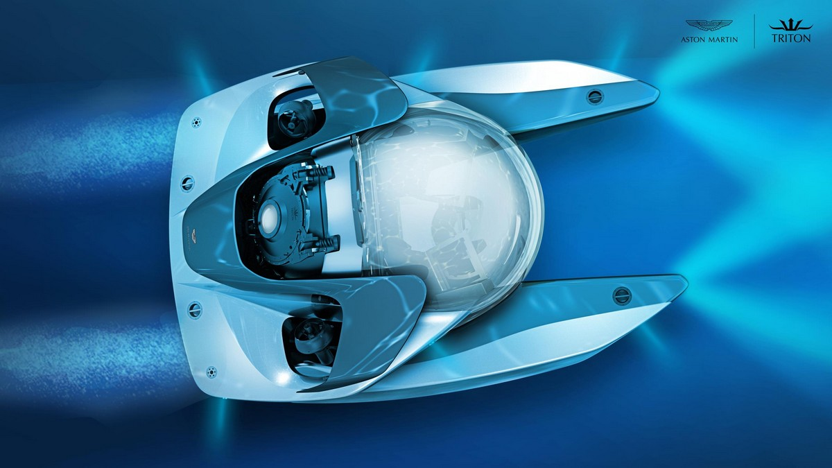 Aston Martin Project Neptune Submarine