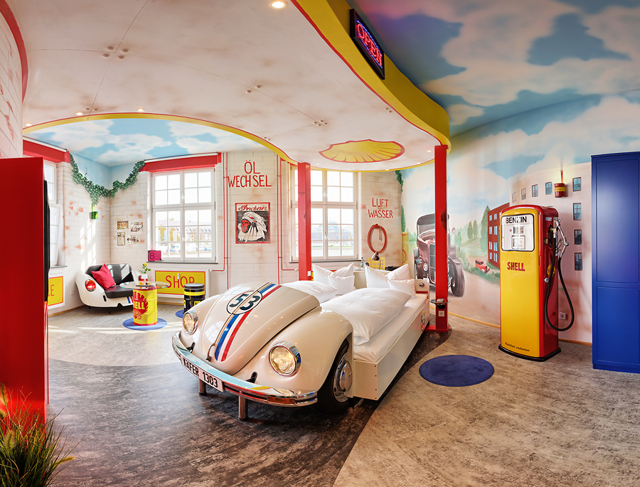 V8 Hotel Motorworld