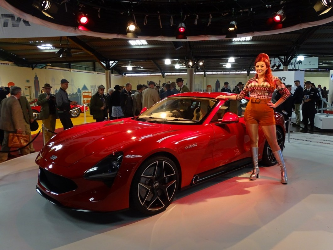 New TVR at the Goodwood Revival 2017