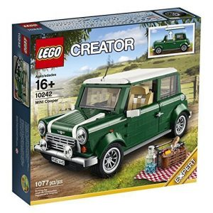 Lego car Mini Cooper