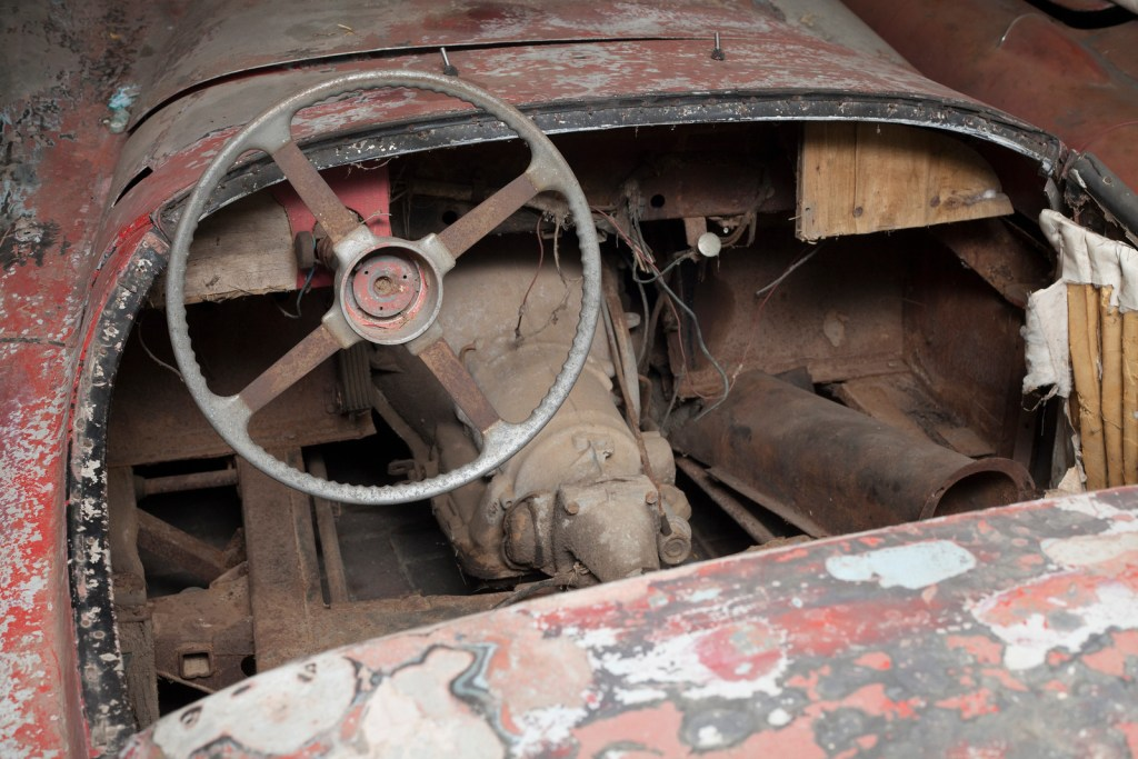 Barn find Jaguar XK
