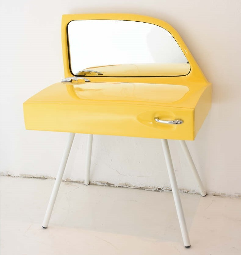 Car furniture VW Beetle dressing table