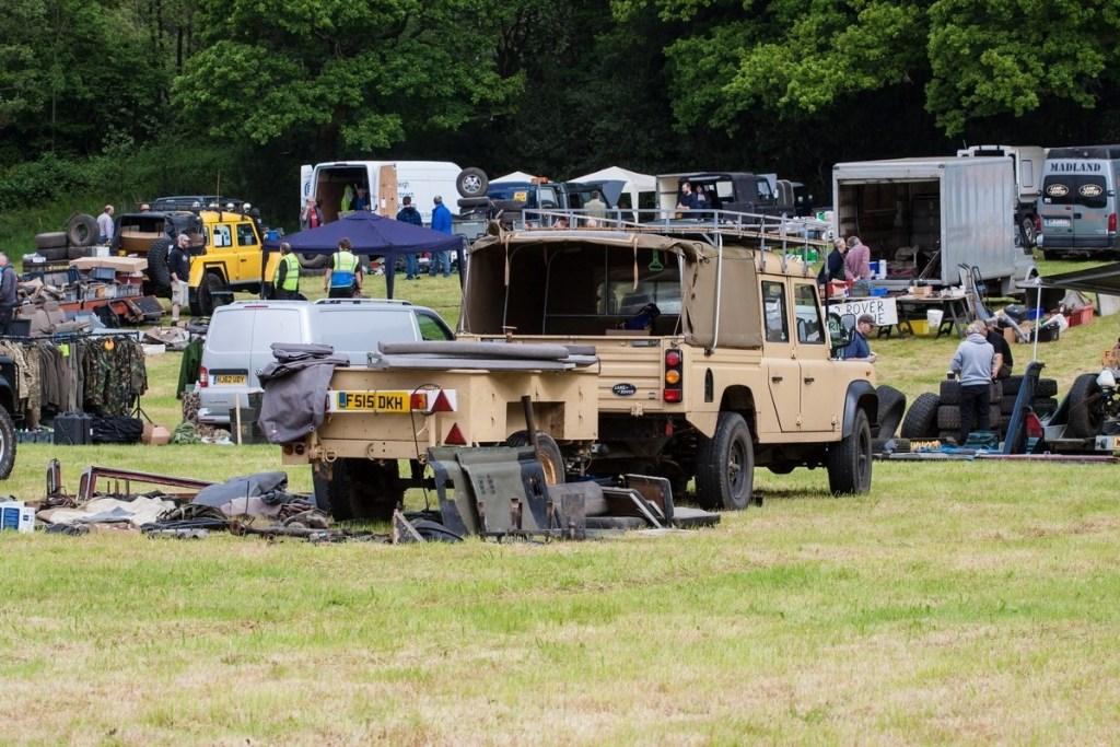 Land Rover Rummage at Beaulieu