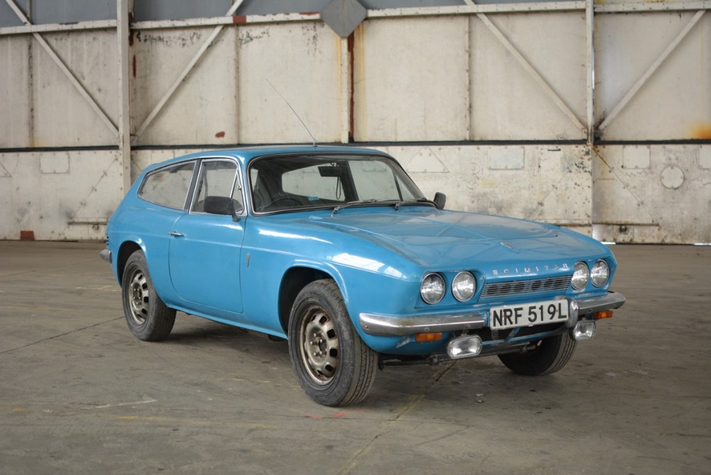 Bicester Heritage Auction Reliant Scimitar 4x4