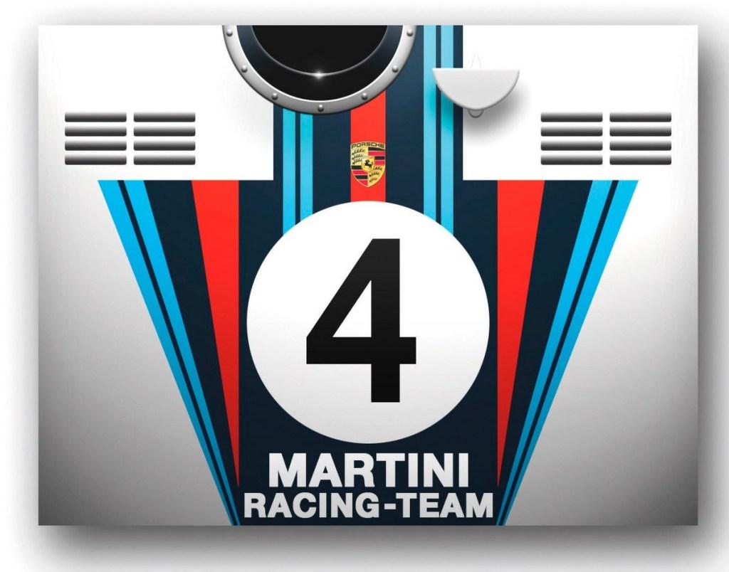 Racing Colours Book Martini