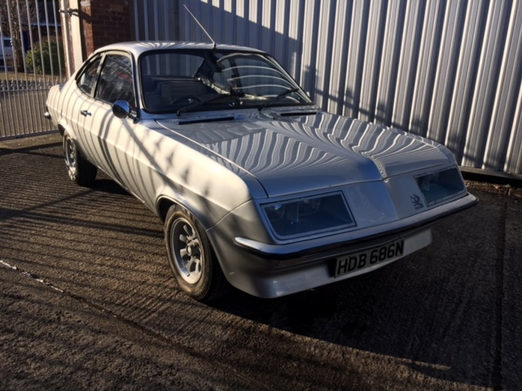 1975 Vauxhall Firenza 2.3 'Droopsnoot'