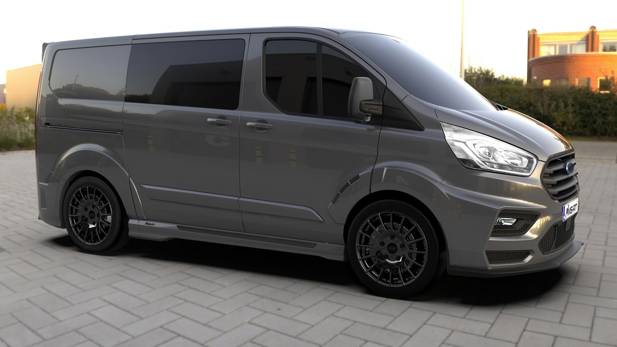 2018 Ford MS-RT Transit Custom