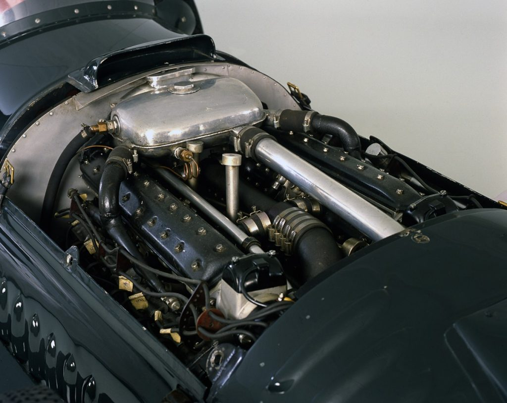 1950 BRM V16 engine