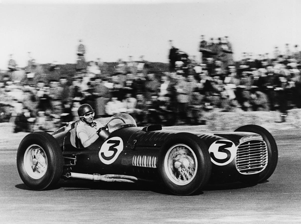 BRM V16 at Silverstone 1953