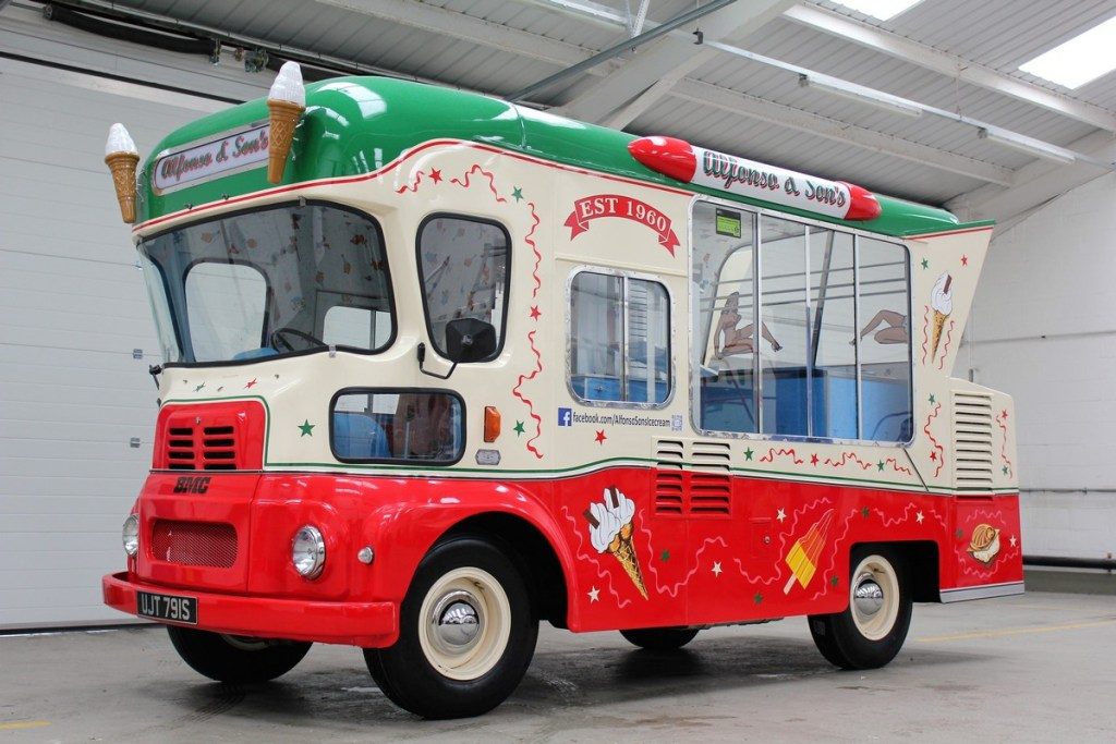 BMC ice cream van