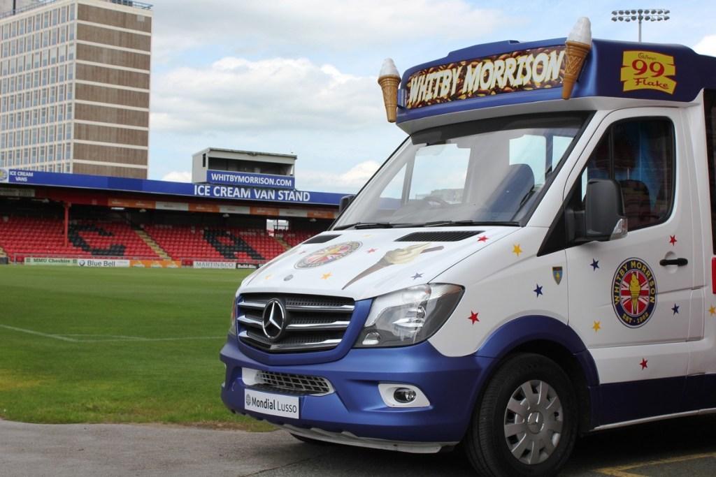 Whitby Morrison Ice Cream Van