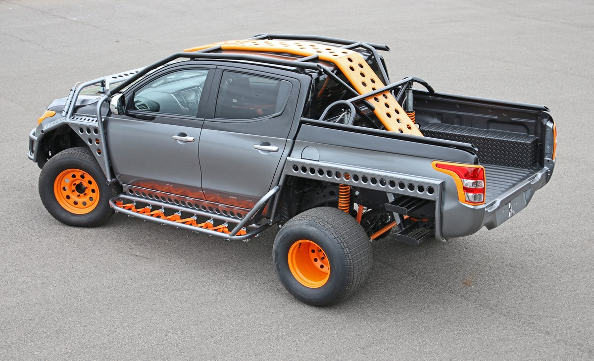 Shane Lynch's Modified Mitsubishi L200 Starring In The Fast