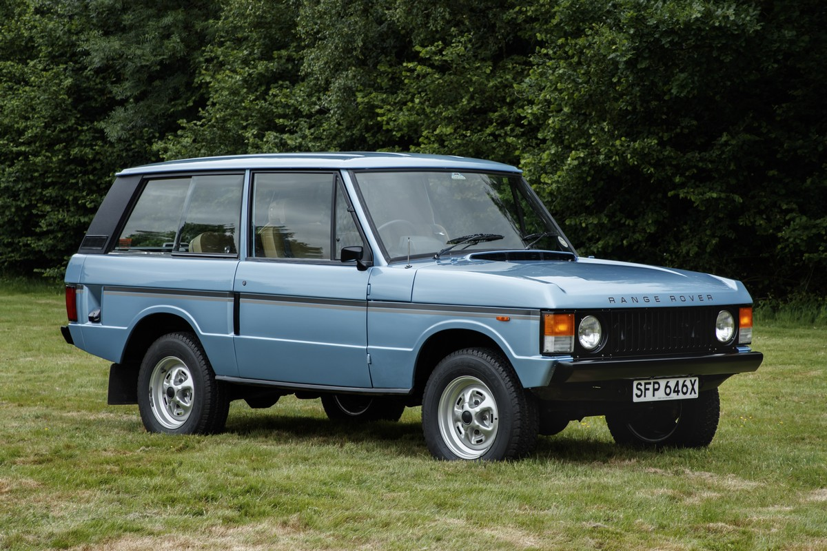 The 1981 Range Rover 2 door In Vogue. This car has done only 25000 miles from n