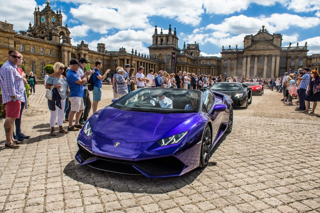 Blenheim Palace Classic & Supercar