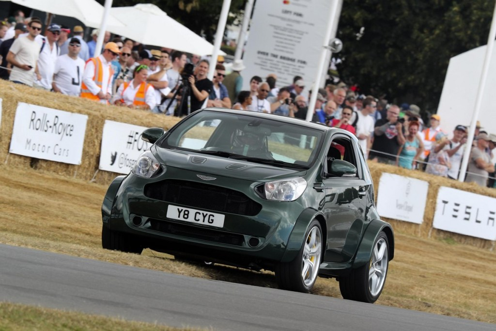 Aston Martin V8 Cygnet at the Goodwood Festival of Speed 2018