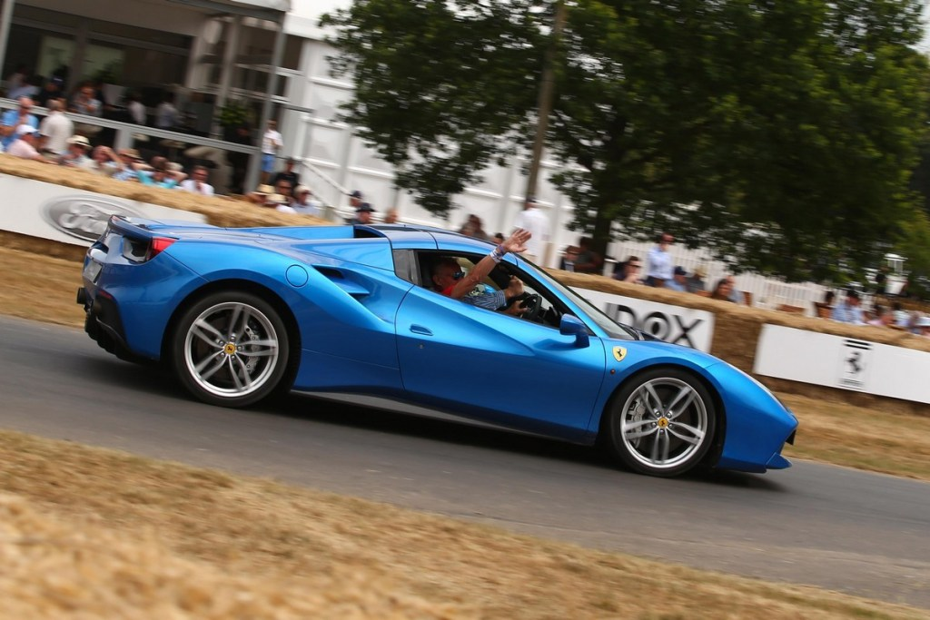 Ferrari 488 Pista - Goodwood Festival of Speed 2018