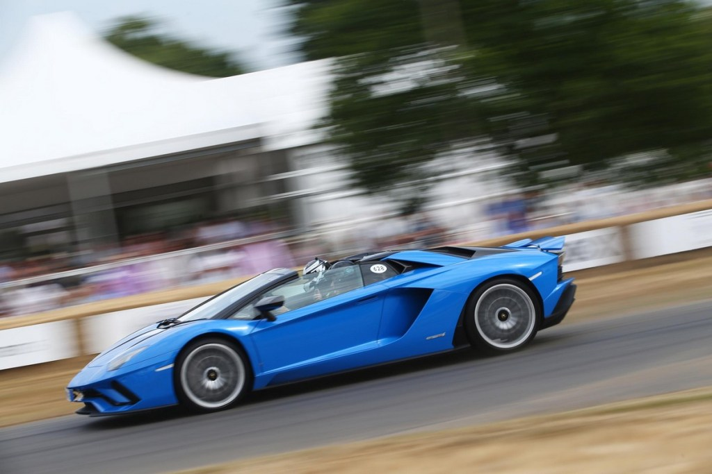 Lamborghini Aventador S Roadster - Goodwood Festival of Speed 2018